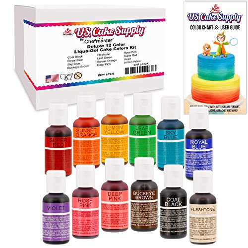 Best Food Coloring For Cake   Bakeware